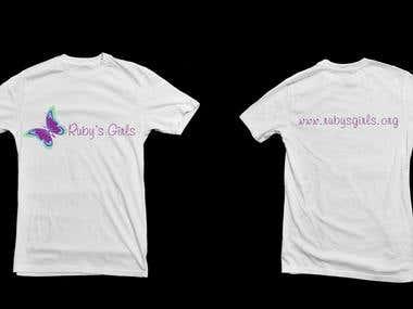 Rubys Girls - T-Shirt Design