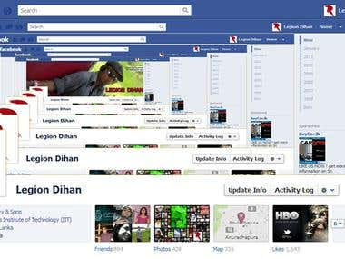 Amazing FaceBook Cover