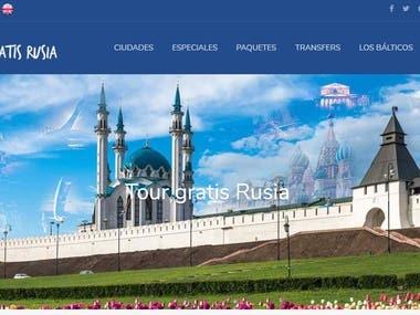 Diseño de banner principal para web