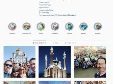 Manejo de redes sociales Guiarus