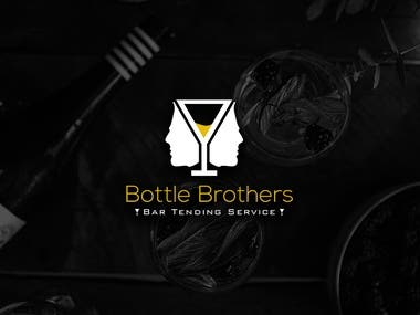 Bottle Brothers Logo Design
