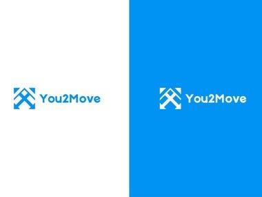 You2Move Minimal Logo Design Concept