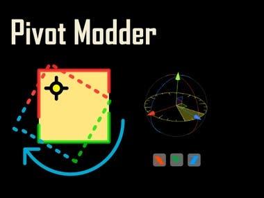 Pivot Modder (Unity Editor Extension)