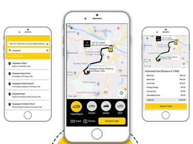 Autokatta - Taxi booking app