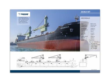 Shipping Company Brochure