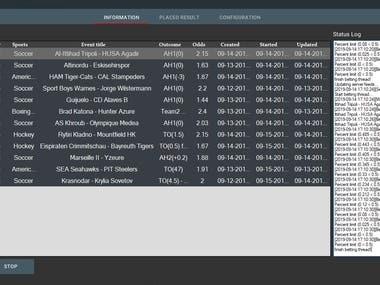 Betting Bots (Tipster , Bet365, Betfair, EuroBet bot etc...)