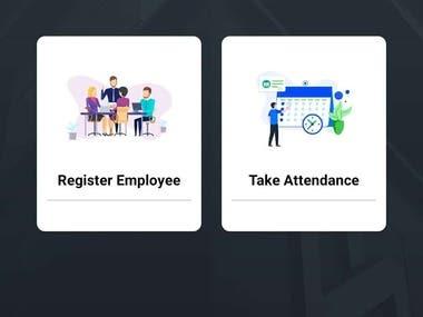 Flutter based app - Attendance app