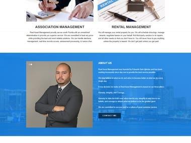 Real Estate Property Management Website