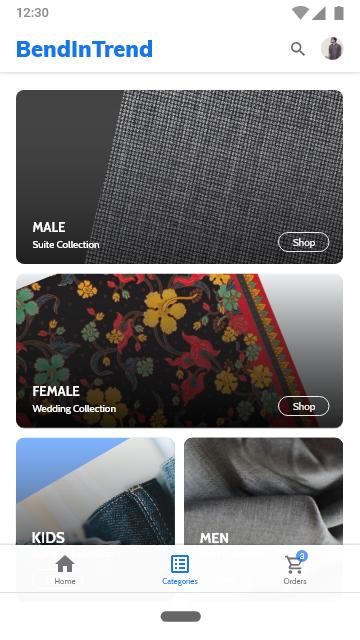 Bend in Trend Mobile App
