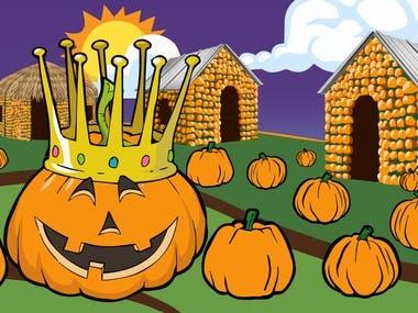 Pumpkin King Poster