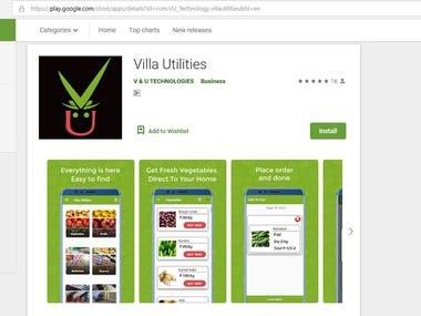 Villa and utilities