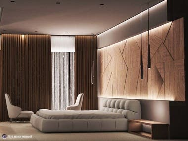 Residential Interior Architecture (Contemporary Style)