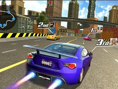Car Racing Native Mobile Apps