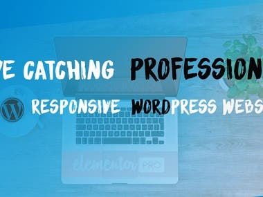Professional responsive WordPress with page builder