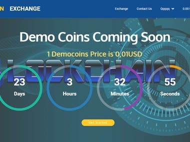 Bitcoin Crypto Currency Exchange Site.