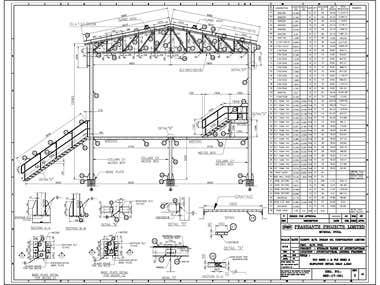 Steel Structural detailing work