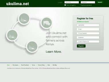 Ukulima.net Project