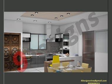 Komal Interiors Project