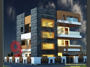 Sree Nilayam Exterior and Interior Project
