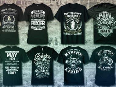 Eye catching t-shirt design