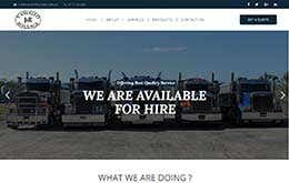 Website for a Trucking Company ( vassallohaulage.com.au)