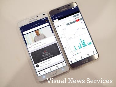 React Native: Visual News Services App