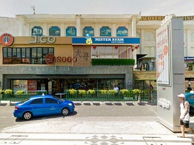 exterior restaurant