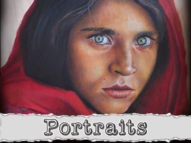 My portraits / Mis retratos
