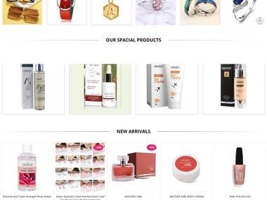Souha Eternal Beauty - Ecommerce Website