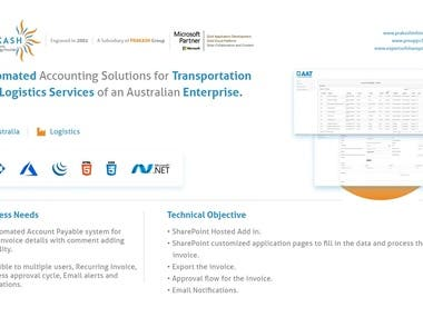 SharePoint Automated Accounting Solution