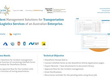 Incident Management Solutions using SharePoint & Add In