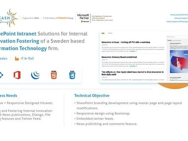 SharePoint Intranet Solution