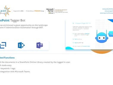 SharePoint Tagger Bot