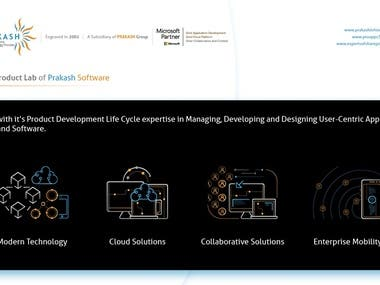 Product and Application Development In Prakash Software