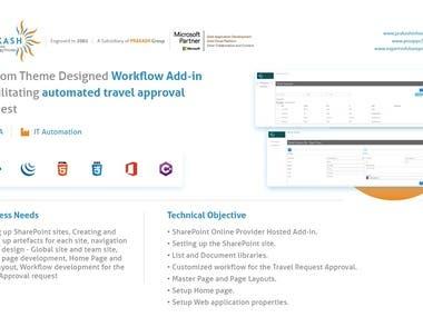 SharePoint Workflow Add-In