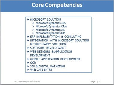 i4Consultant Services