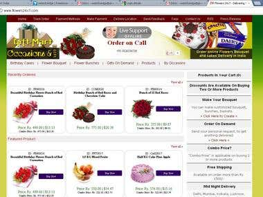 Online Gift Shope