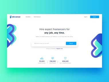 Skillancer Freelancer Platform