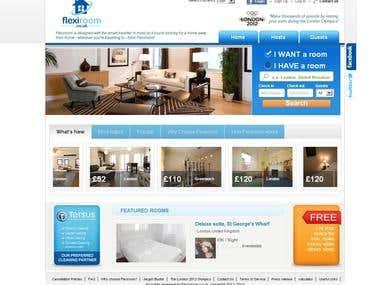 Flexiroom - Room Rentals