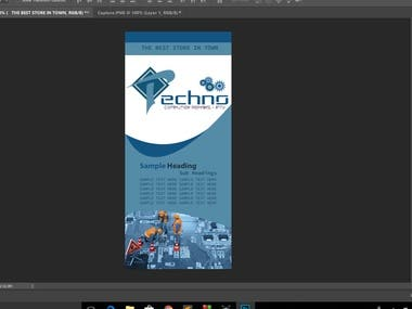 Some Brochures, Flyers and Banners I Created