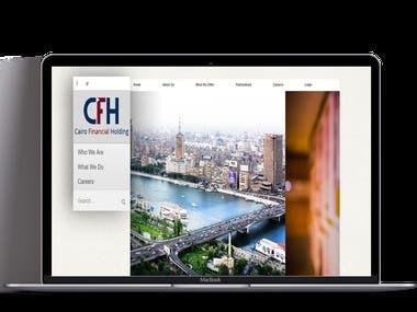 CFH a stock broker company website