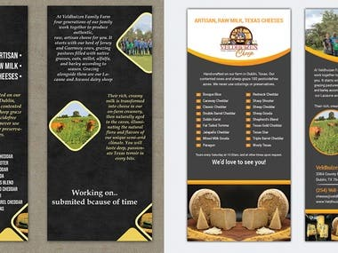 Rack card design