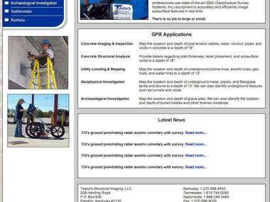 Taylor Structrual Imaging Website