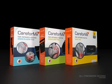 Packaging design for medical curing device