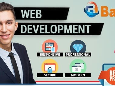 I will design your website and business logo