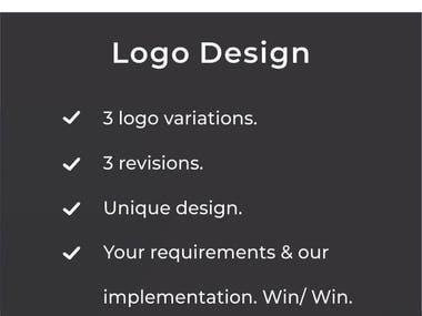 Get a Logo Designed.