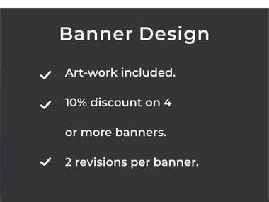 Get a Banner Designed.