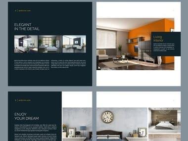 BROCHURE DESIGN | INTERIOR DESIGN