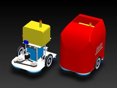 a robot auto laveur