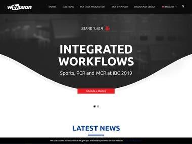 Wordpress Multi-langual website
